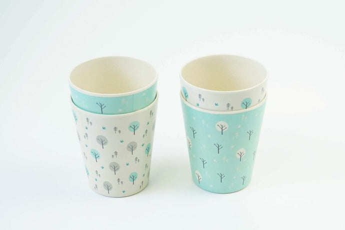 The EcoCubs Original Set of 4 Cups