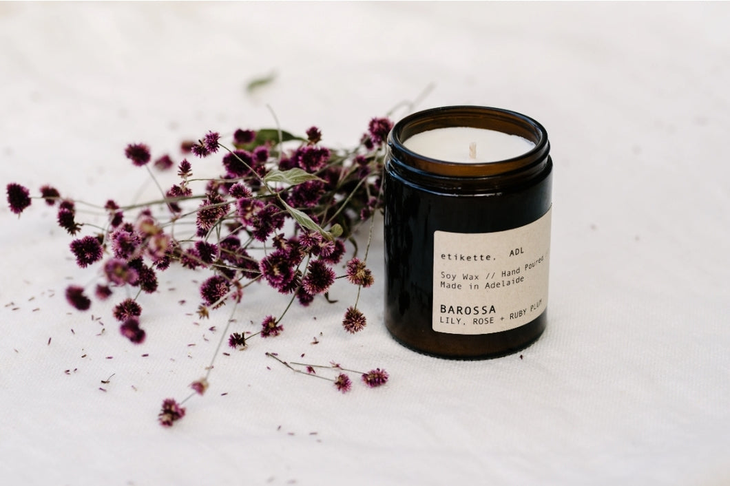'Barossa' // Lily, Rose + Ruby Plum Candle- 175ml