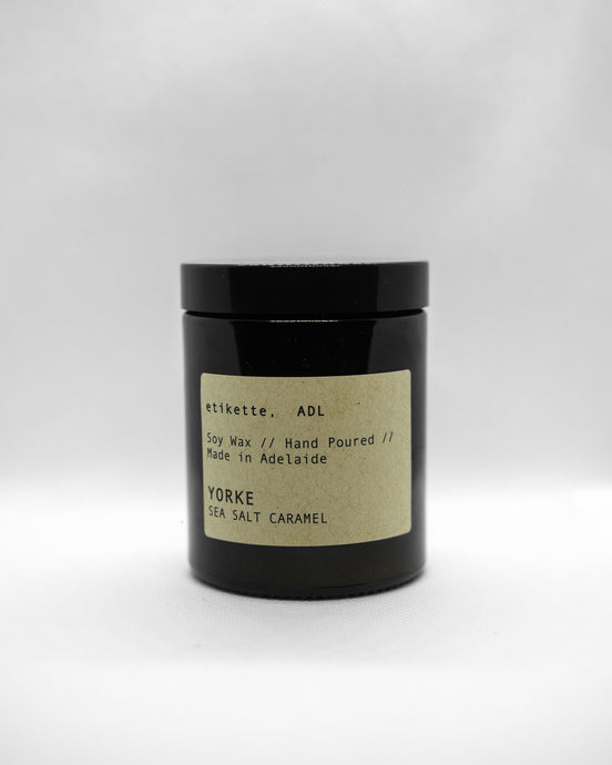 'Yorke' // Sea Salt Caramel Candle - 175ml