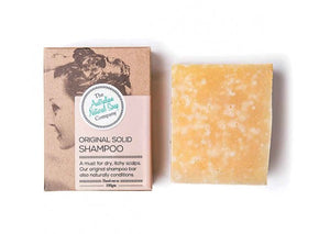 THE AUSTRALIAN NATURAL SOAP CO Solid Shampoo Bar Original 100g