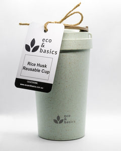 Rice Husk Reusable Cup