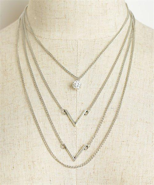 Multi Chain Layer Necklace
