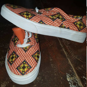 Kitenge shoes