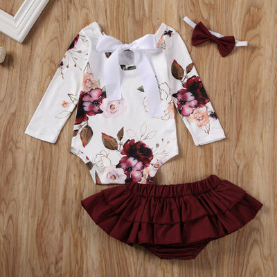 PENNY Floral Outfit with Headband