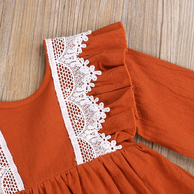 WILLOW Lace Romper Dress