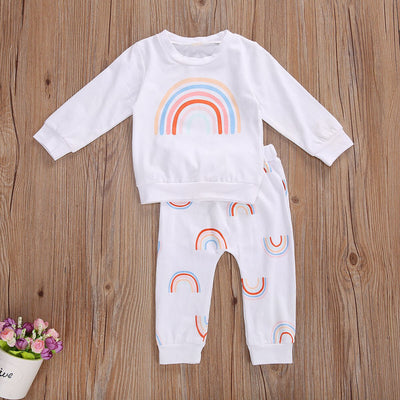 RAINBOW White Outfit