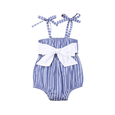SKYLER Striped Romper