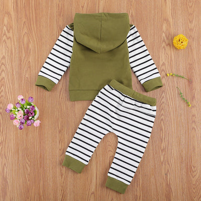 FOREST Striped Hoody Outfit