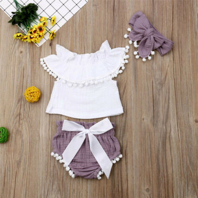 ELOISE Tassel Outfit with Headband