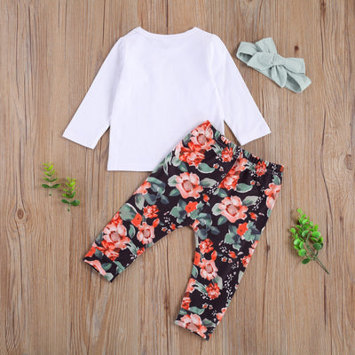 WATERCOLOR FLOWERS Outfit