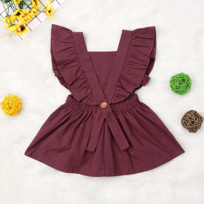 LENNI Ruffle Sleeve Dress