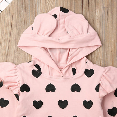 HEARTS Hoody Outfit