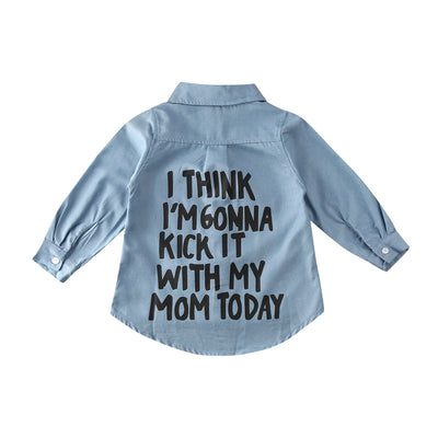 KICK IT WITH MOM Shirt