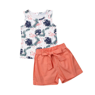 FLAMINGO Shorts Summer Outfit