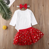 JOLLY DEER Polka Dot Tutu Outfit