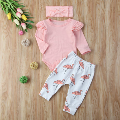 FLAMINGO Outfit with Headband