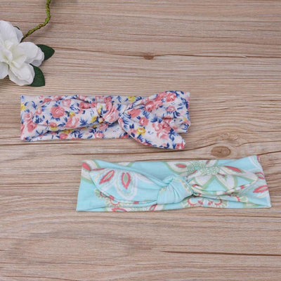 Set of 4 Floral Headbands