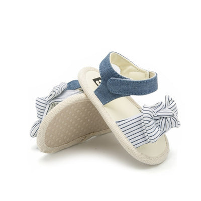 LILLY Striped Bowtie Sandal