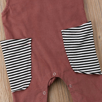 BAILEY Striped Pocket Jumpsuit