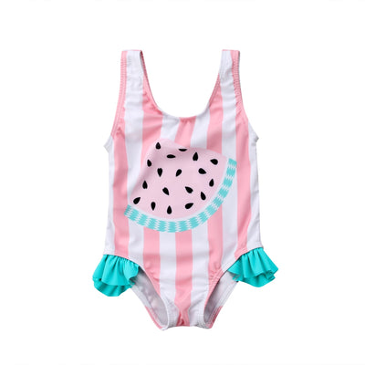 WATERMELON Ruffle Swimsuit
