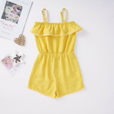 MADDIE Yellow Jumpsuit