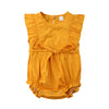 MARGARITA Yellow Summer Romper