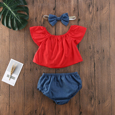 LITTLE MISS INDEPENDENCE Outfit