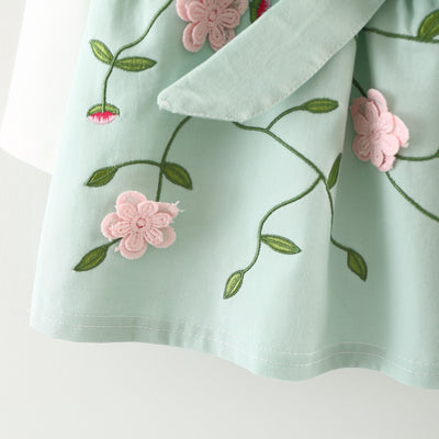 AURORA Floral Dress with Shirt