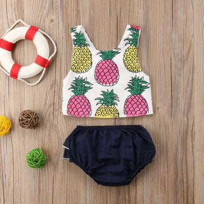 PINEAPPLE Summer Outfit