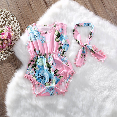 CARLY Romper with Headband