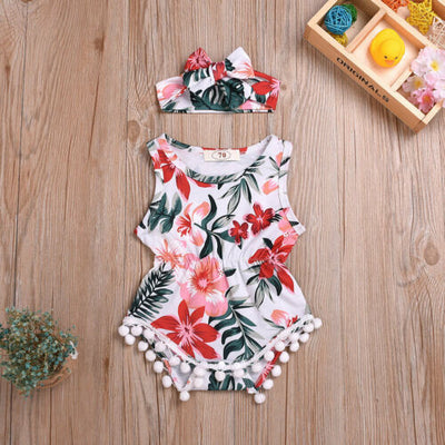 ALOHA Romper with Headband