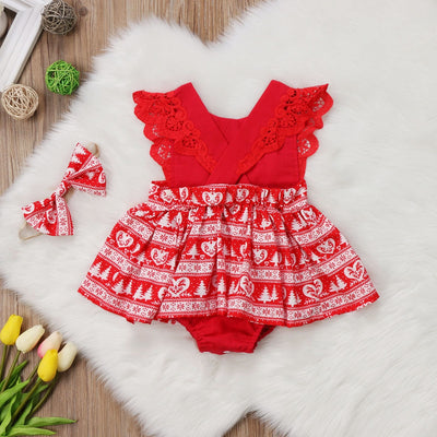 WINTER LOVE Romper Dress