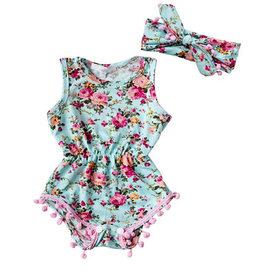 MILA Romper with Headband