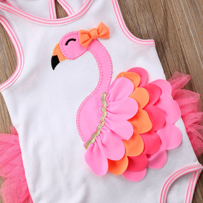 HAPPY FLAMINGO Romper