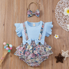MALIN Floral Outfit with Headband