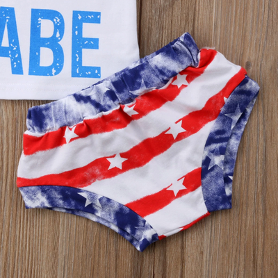 AMERICAN BABE Summer Outfit