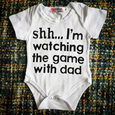 WATCHING THE GAME Onesie