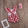 RUBY Romper with Bow Tie