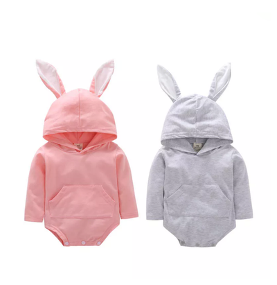 LITTLE BUNNY Hooded Onesie
