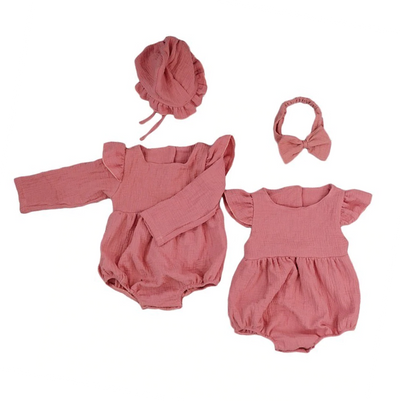 CHARLOTTE Romper with Headband