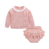 MARTHA Knitted Ruffle Outfit