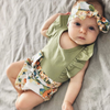 MOLLY Floral Outfit with Headband
