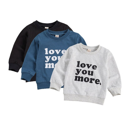 LOVE YOU MORE Sweater