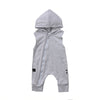 JAKE Sleeveless Hooded Outfit