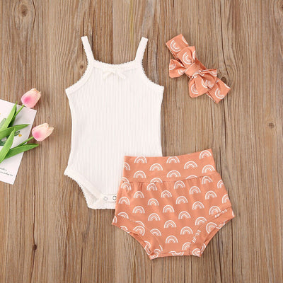 RAINBOW Coral Summer Outfit