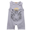 TIGER Sleeveless Summer Jumpsuit