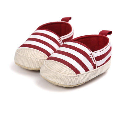 Striped Canvas Shoes