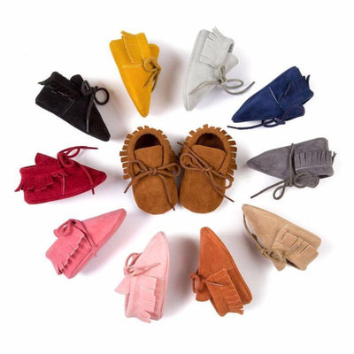 Baby Suede Moccasins