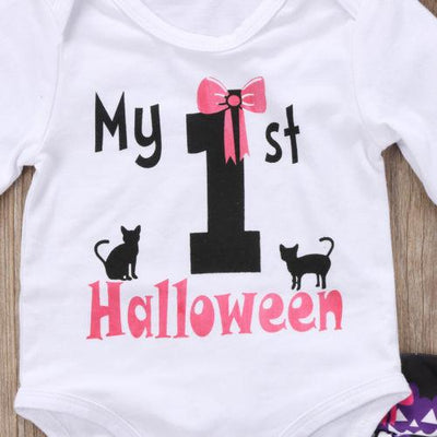 4 piece 'My 1st Halloween' Outfit