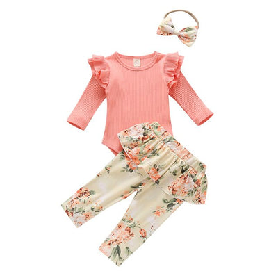 MEADOW Floral Outfit with Headband
